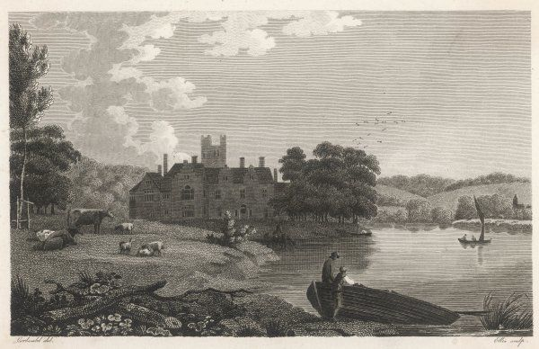 Bisham Abbey, Berkshire - home of George Vansittart in 1787