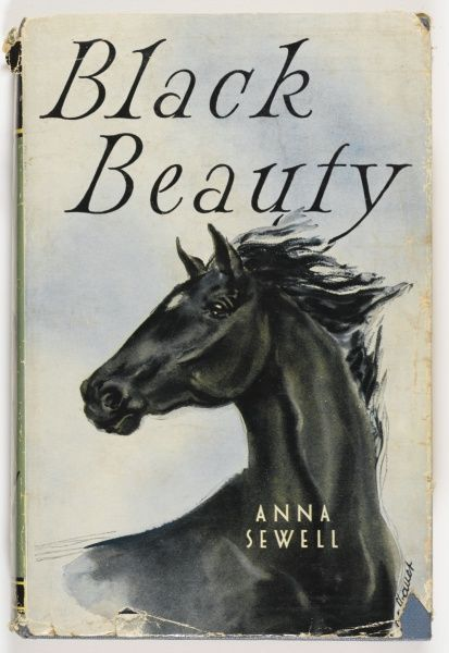 Book jacket for Black Beauty by Anna Sewell, originally published in 1877