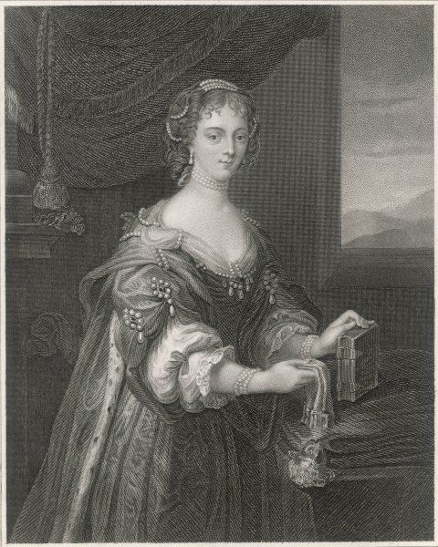 Blanche Somerset, baroness Arundel of Wardour, wife of Thomas, 2nd baron Arundel, who staunchly defended Wardour Castle against the Parliament forces during the Civil War