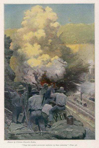 The American operation : blasting rock at the Emperador cutting