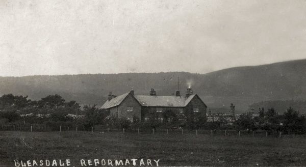 A view of the North Lancashire Reformatory for Boys at Bleasdale, near Garstang, Lancashire which opened in 1857. Reformatories could house convicted juvenile offenders aged under 16 for a period of 2 to 5 years