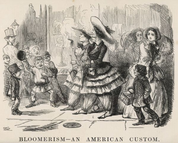 Bloomerism - an American custom