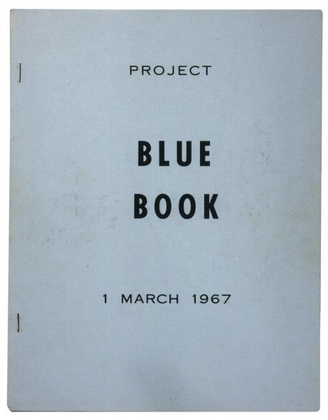 PROJECT BLUE BOOK The official summary of the Project's findings