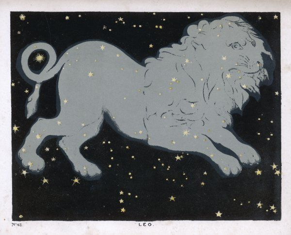 The constellation of Leo, the lion