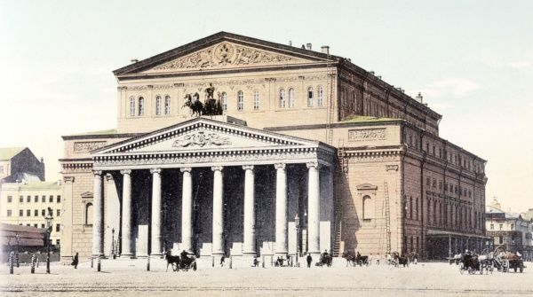 The Grand Imperial Theatre The Bolshoi Date: 1908?