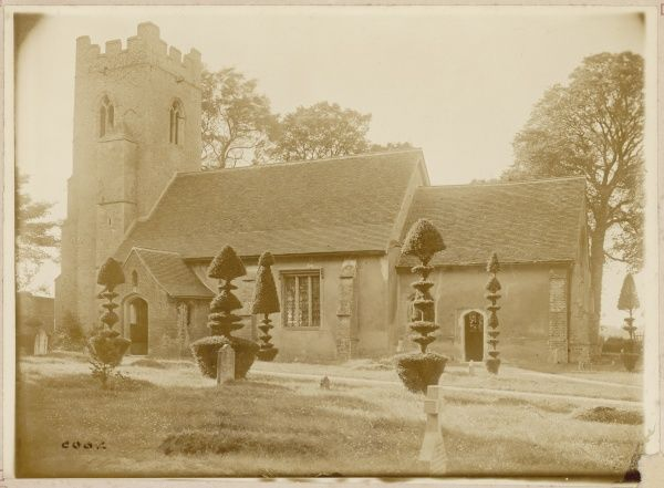 Borley Church at the time of Harry Bull's occupancy