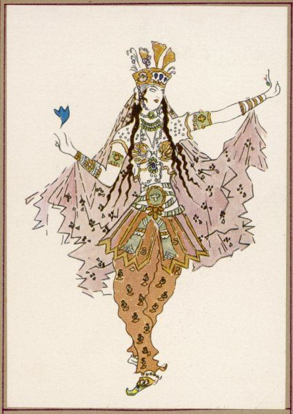 Costume for a female dancer