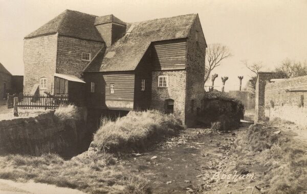 The Mill - Bosham, West, Sussex - a view of this charming coastal village, the site of King Canute's aborted attempt to hold back the tide. Date: circa 1920