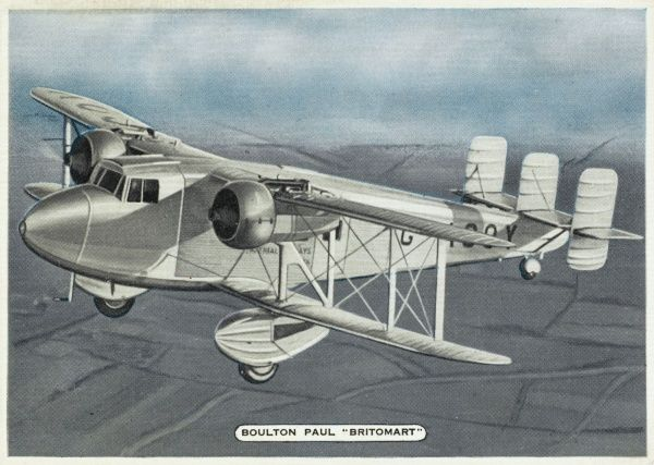 A clumsy, old-fashioned- looking twin engine biplane, used by Imperial Airways for feeder line and general charter work