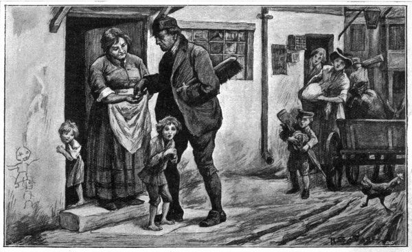 Children sold by their parents to work as chimneysweeps