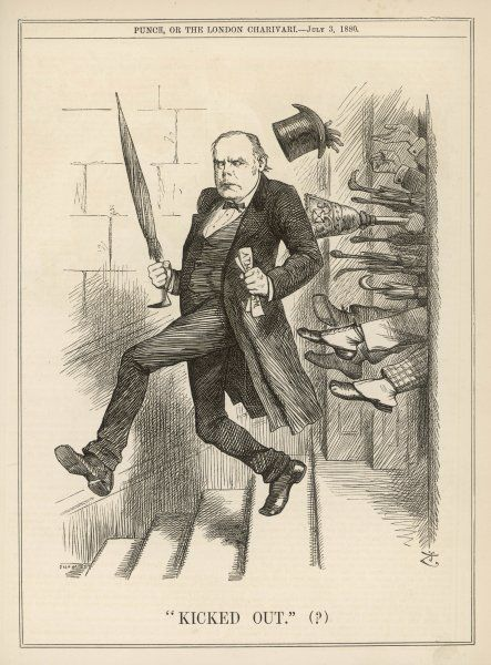 CHARLES BRADLAUGH Statesman and reformer expelled from the Commons for refusing to take the oath of allegiance, 1880
