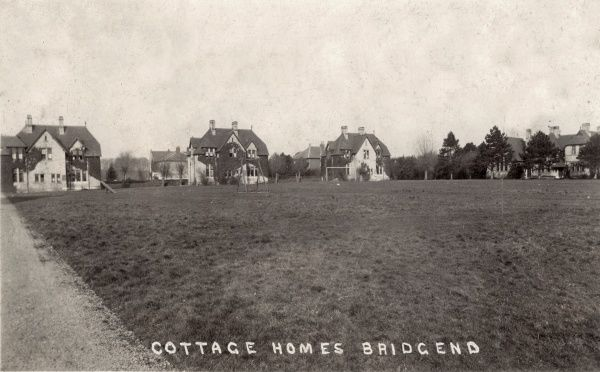 The Bridgend Union's cottage homes at Merthyr Mawr Road, to the south of Bridgend