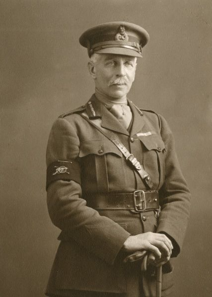 Brigardier General J. Wilfred Stirling - From Essex, lost his son in 1914 after he was killed mat the age of 28. Date: circa 1914