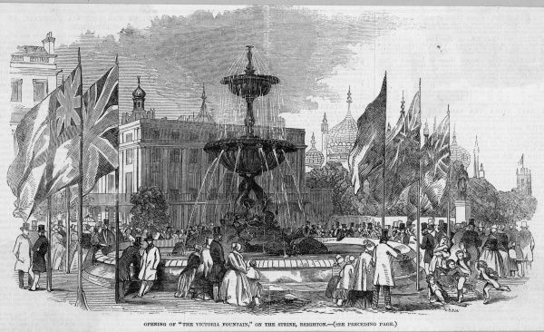 A new fountain is erected on the Steine at Brighton, Sussex, and in a striking moment of inspiration it is decided to name it the 'Victoria' fountain