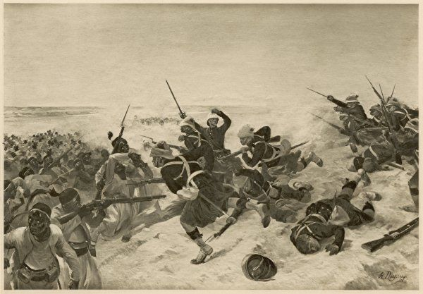 The British under Napier defeat Emperor Theodore at Tel-el-Kebir