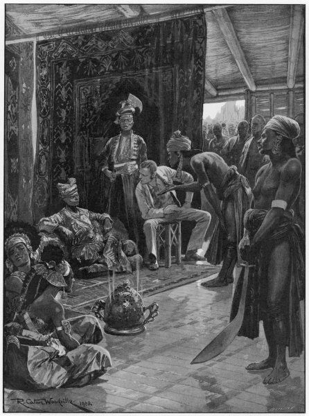 James Brooke negotiates his first treaty with the Sultan of Borneo