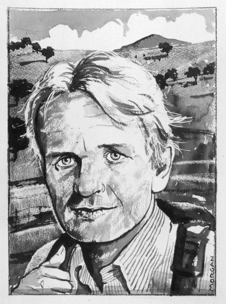 BRUCE CHATWIN British novelist and travel writer