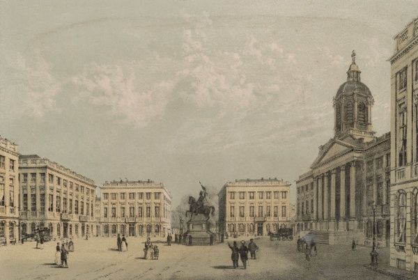 Brussels: Place Royale