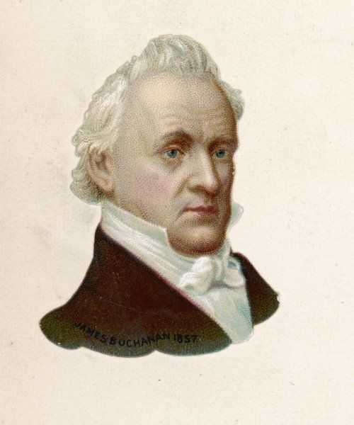 JAMES BUCHANAN 15th President of the United States (1857-61)