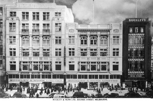 Buckley and Nunn Department Store, Bourke Street, Melbourne, Australia