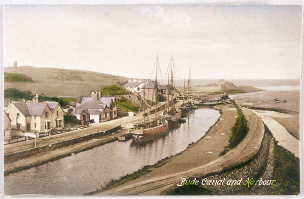 Bude, Cornwall: canal and harbour