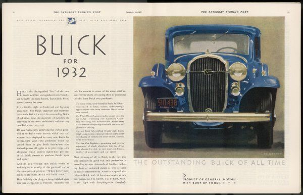 'The outstanding Buick of All Time - the Eight with Everything for Everybody...&#39