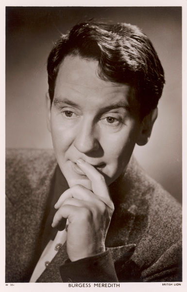 BURGESS MEREDITH American character actor