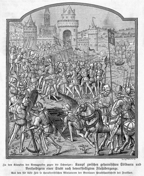 The Burgundians besiege a Swiss town, but they will be decisively repulsed at the battle of Morat