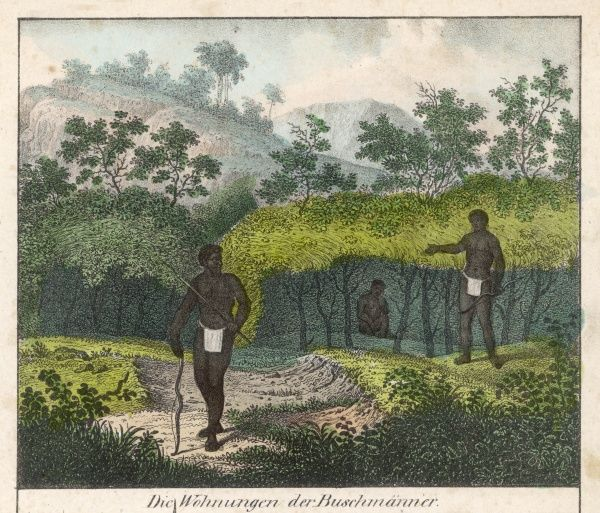 Home of Bushmen of South Africa