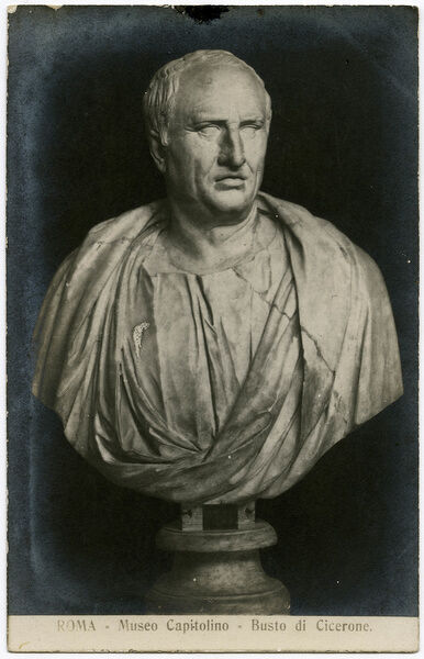 the life of marcus tullius cicero a roman philosopher and politician Marcus tullius cicero was a roman philosopher, politician, lawyer, orator, political theorist, consul and constitutionalist he came from a wealthy municipal family of the roman equestrian order, and is widely considered one of rome's greatest orators and prose stylists.