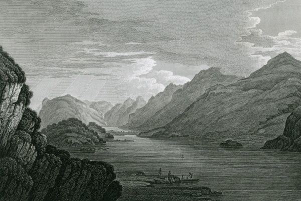 Buttermere and Crummock Water, Cumbria Date: 1815