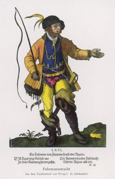 A German coachman