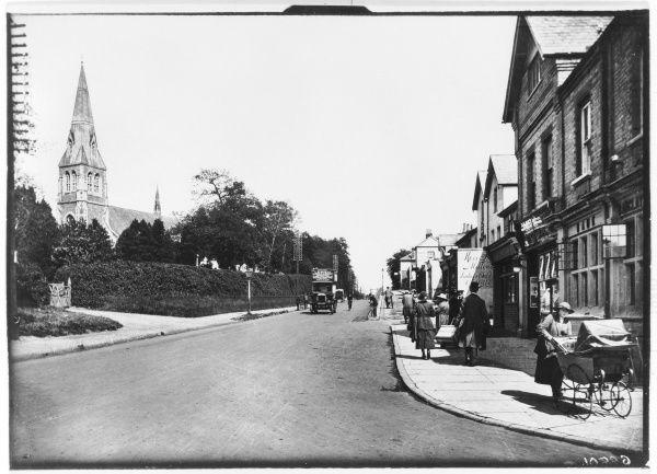 The London Road Camberley Surrey