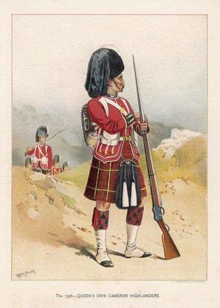 79th Regiment; The Queen's Own Cameron Highlanders