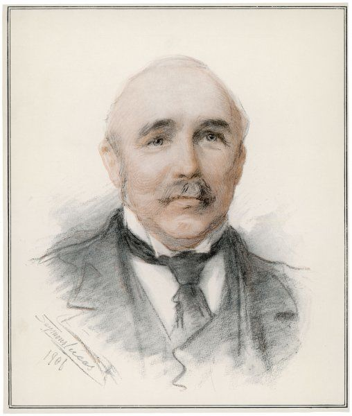 SIR HENRY CAMPBELL-BANNERMAN Politician in 1906