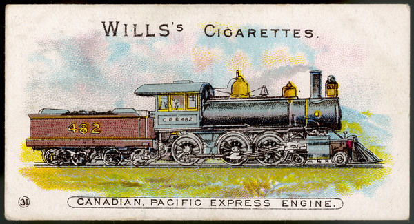 Express locomotive of the Canadian Pacific Railway