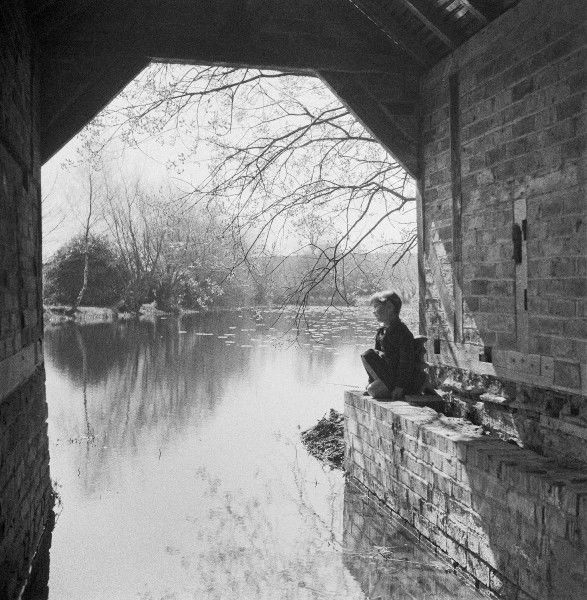 Canal Scene. Photograph by Norman Synge Waller Budd