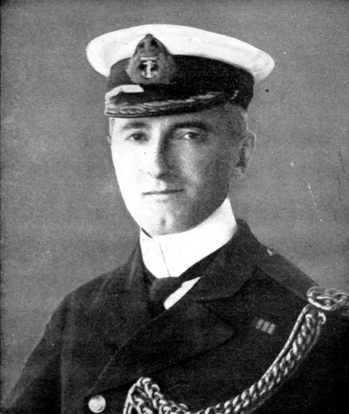 Captain Arther N. Loxley, H.M.S Formidable