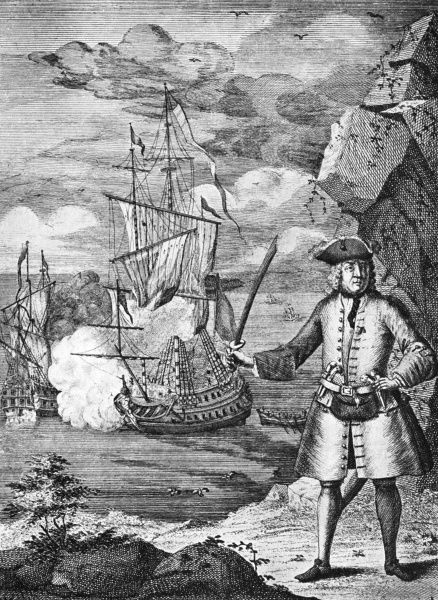 Captain Avery and his crew taking one of the Great Mogul's ships. In 1695, pirate Henry Avery's (aka Every or Avary) ship, the Fancy, had reached the Arabian Sea where it captured the rich Mughal trading ship Ganj-i-Sawai and its escort