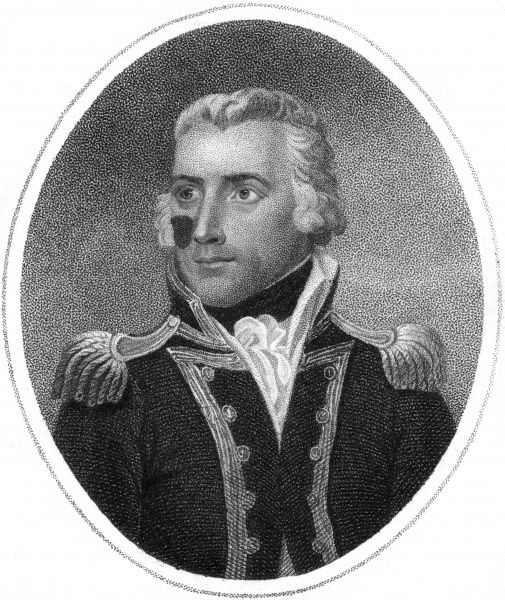 Captain RICHARD BOWEN British naval commander during the Napoleonic Wars. Date: circa 1805
