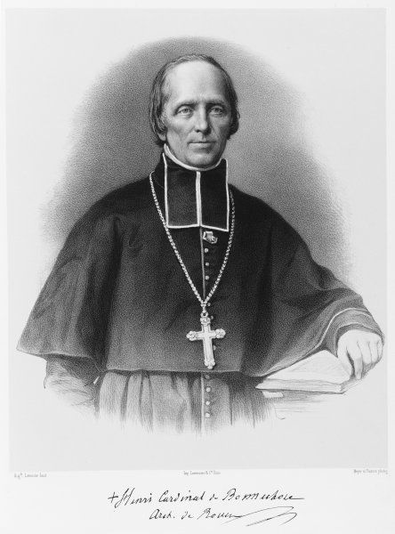 H M G CARDINAL BONNECHOSE French bishop
