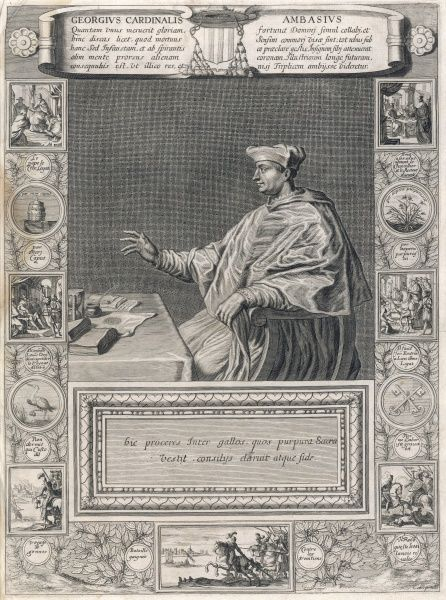 Georges, cardinal d'Amboise, archbishop of Rouen, influential statesman as well