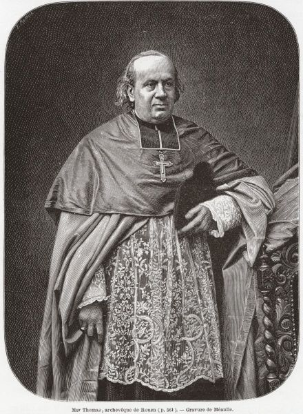 LEON BENOIT CHARLES THOMAS French churchman, cardinal and archbishop of Rouen. Date: 1826 - 1894