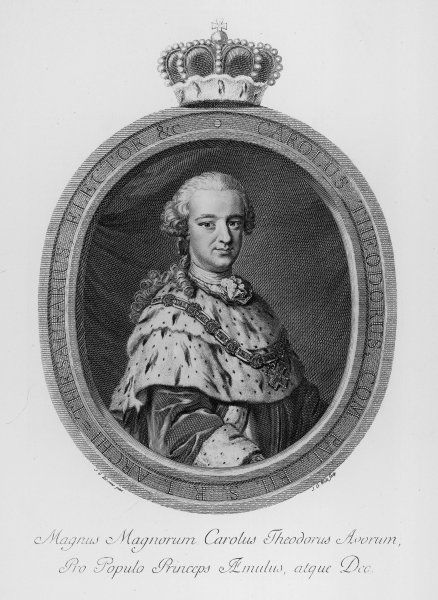 CARL THEODOR of PFALZ and BAVARIA Kurfurst of Pfalz (from 1743) and Bavaria (1777-99)