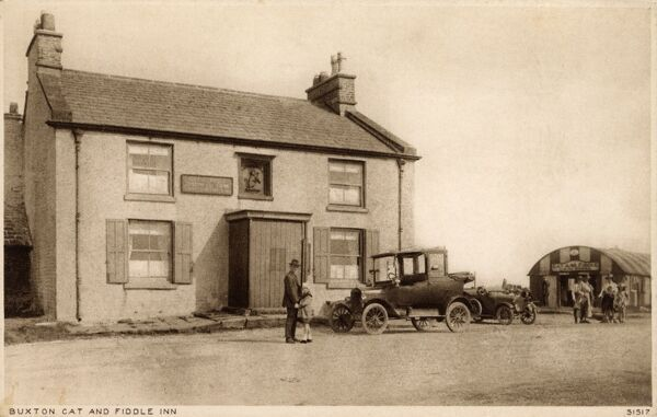 Cat and Fiddle Inn - Buxton, Derbyshire Date: circa early 1920s