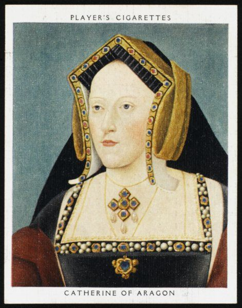 CATHERINE OF ARAGON First Queen of Henry VIII
