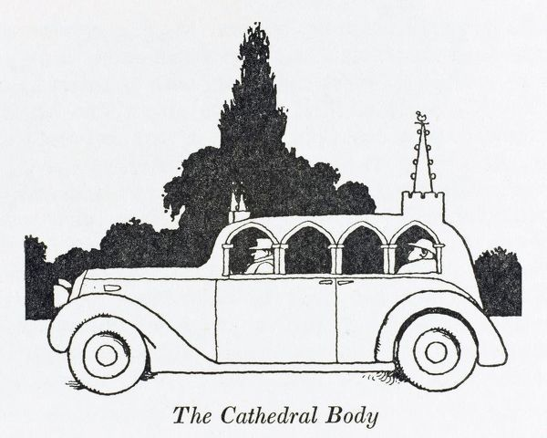 A Bishop would look very impressive in this vaguely church-shaped vehicle, with Gothic windows and an imitation spire, designed to express his personality