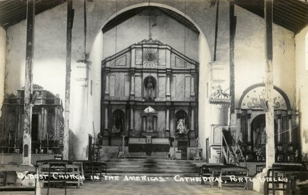 Cathedral Porto Bello, the oldest church in the Americas