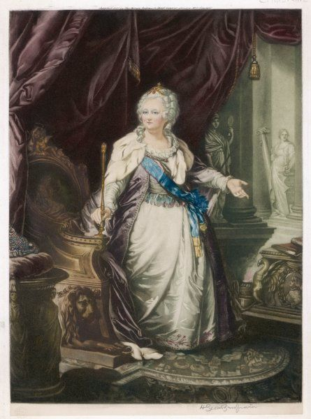 CATHERINE THE GREAT Empress of Russia (1762-96) Date: 1729 - 1796