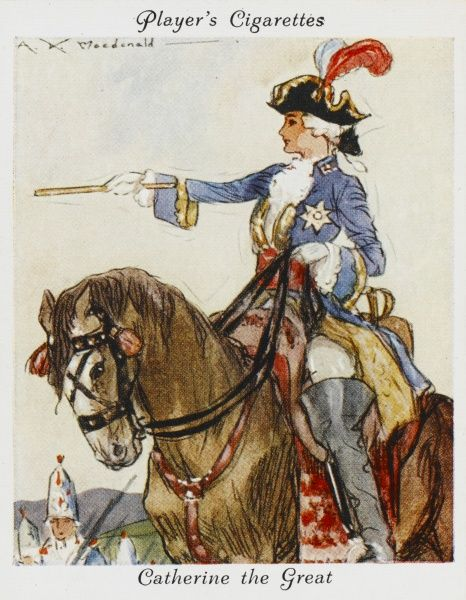 CATHERINE THE GREAT Empress of Russia (1762-96)